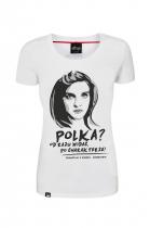 """""""Dziewczyny z Syberii"""" – koszulka patriotyczna, rozmiar L"""
