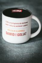 """Malcolm Gladwell, """"Dawid i Goliat"""" - kubek motywacyjny"""