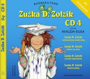 Zuźka D. Zołzik. CD 4. Audiobook