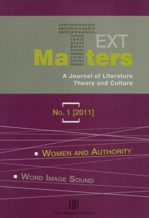 Text matters 1/2011