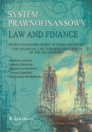 System prawnofinansowy Law and Finance