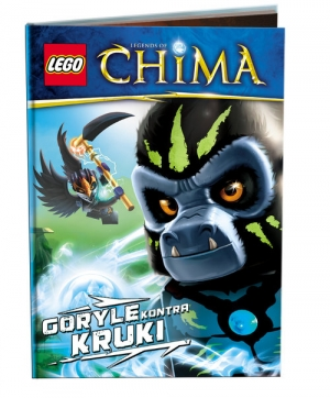 Lego Legends of Chima Goryle kontra Kruki