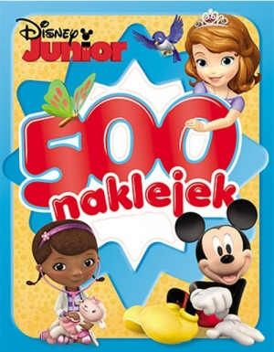 Disney Junior 500 naklejek