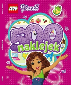 Lego Friends 500 naklejek LBS101