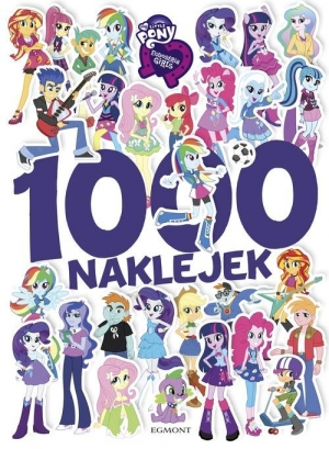 My Little Pony Equestria Girls 1000 naklejek