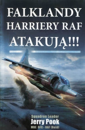 Falklandy Harriery Raf atakują