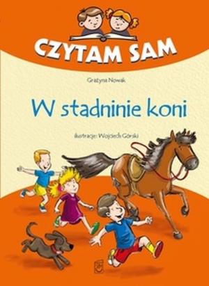 Znalezione obrazy dla zapytania czytam sam w stadninie koni