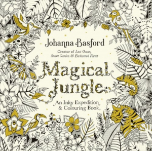 Magical Jungle An Inky Expedition & Colouring Book