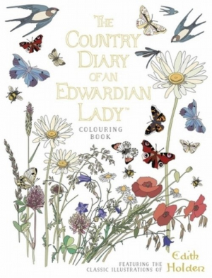The Country Diary of an Edwardian Lady Colouring Book