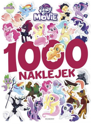My Little Pony The Movie 1000 naklejek