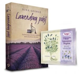 """""""Lawendowy pakiet"""" - książka Niny George """"Lawendowy pokój"""" z saszetką zapachową"""