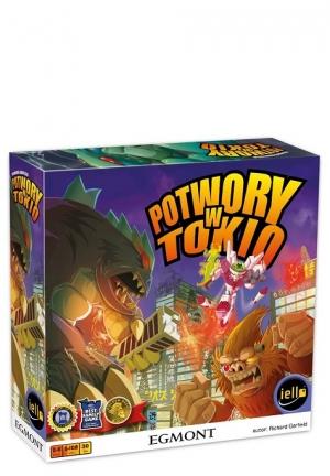 Potwory w Tokio - gra planszowa
