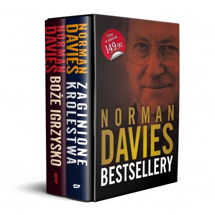 Norman Davies Bestsellery (Pakiet: Boże Igrzysko i Zaginione Królestwa) - Norman Davies | okładka