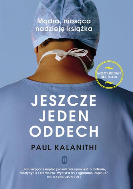 Jeszcze jeden oddech - Paul Kalanithi | okładka