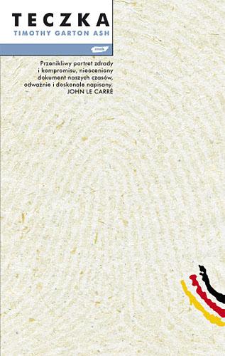 Teczka - Timothy Garton Ash  | okładka