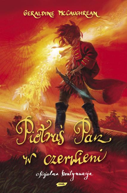 Piotruś Pan w czerwieni - Geraldine McCaughrean  | okładka