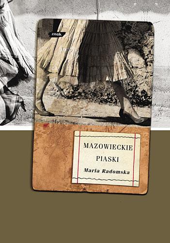 Mazowieckie piaski - Maria Radomska  | okładka