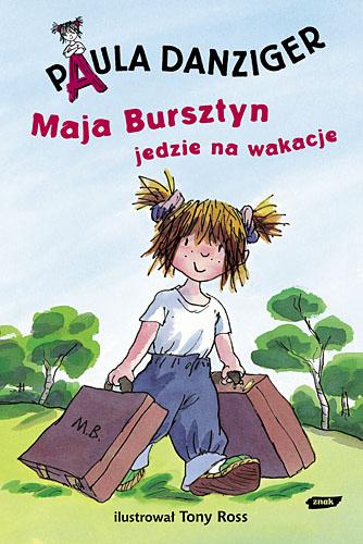 Maja Bursztyn jedzie na wakacje - Paula Danziger  | okładka