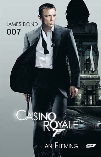 Casino Royale - Ian Fleming  | okładka