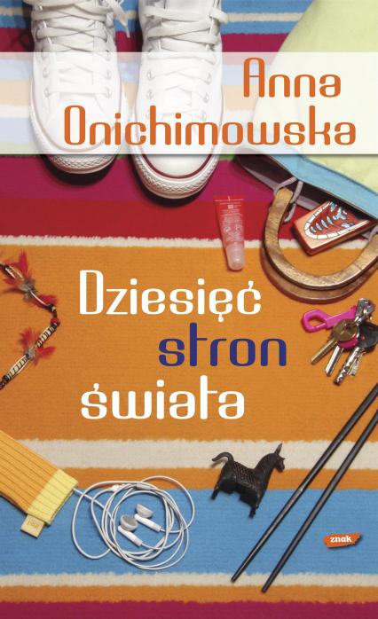 Dziesięć stron świata - Anna Onichimowska  | okładka