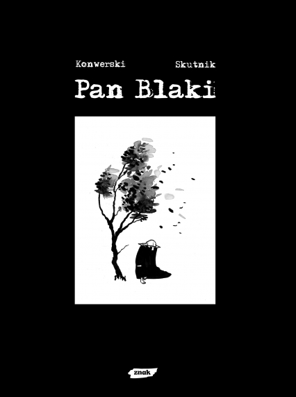 Pan Blaki - Karol Konwerski, Mateusz Skutnik  | okładka
