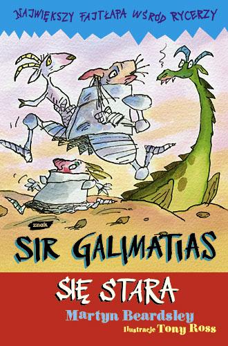 Sir Galimatias się stara - Martyn Beardsley  | okładka