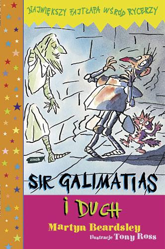 Sir Galimatias i duch - Martyn Beardsley  | okładka