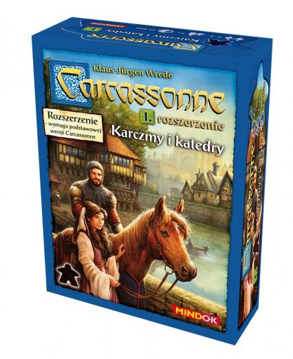 Carcassonne - Karczmy i Katedry - rozszerzenie do gry planszowej - Klaus-Jürgen Wrede | okładka