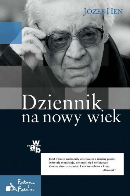 Dziennik na nowy wiek - Józef Hen | okładka