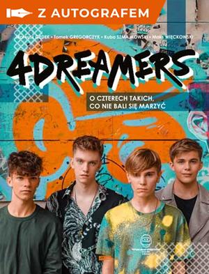 4Dreamers - książka ze zdjęciem i autografem - 4Dreamers | okładka