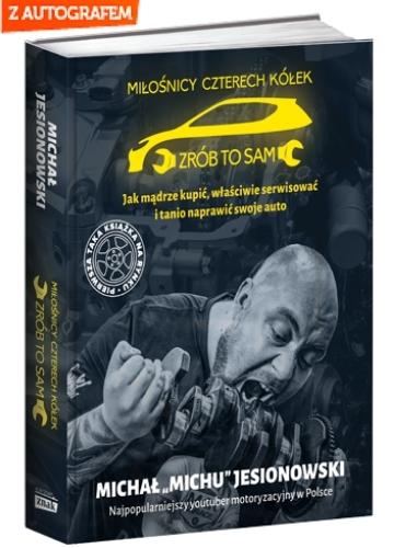 Miłośnicy 4 kółek - Michał Jesionowski    okładka