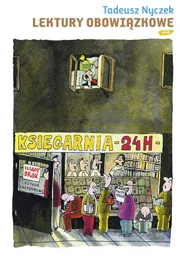 Lektury obowiązkowe - Tadeusz Nyczek  | okładka