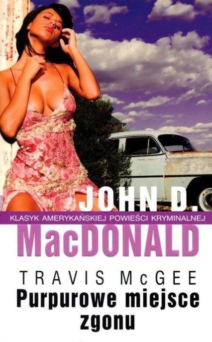 Purpurowe miejsce zgonu - MacDonald John D. | okładka