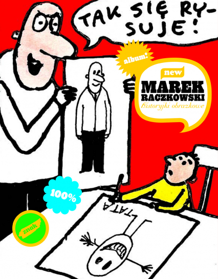Historyjki obrazkowe - Marek Raczkowski  | okładka
