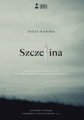 Szczelina - Jozef Karika   okładka