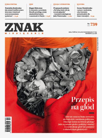ZNAK 739 12/2016: Przepis na głód -  | okładka