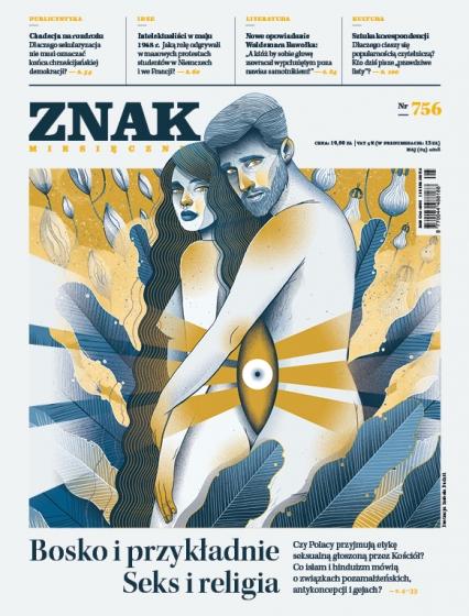 ZNAK 756 5/2018: Bosko i przykładnie. Seks i religia -  | okładka