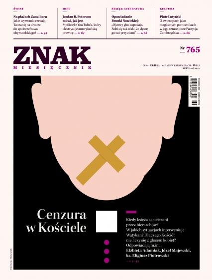 ZNAK 765 2/2019: Cenzura w Kościele -  | okładka