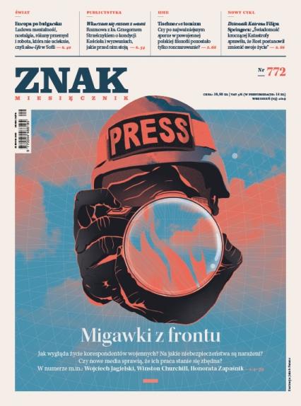 ZNAK 772 9/2019: Migawki z frontu -  | okładka