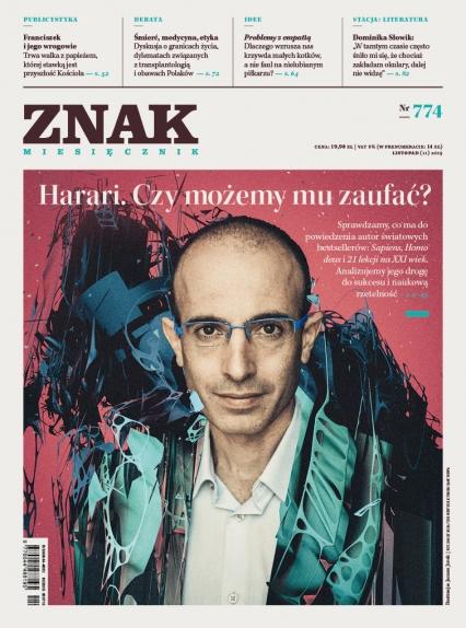 ZNAK 774 11/2019: Harari. Czy możemy mu zaufać?  -  | okładka
