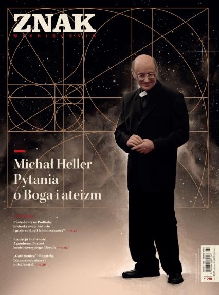 ZNAK 790 03/2021 Michał Heller. Pytania o Boga i ateizm -  | okładka