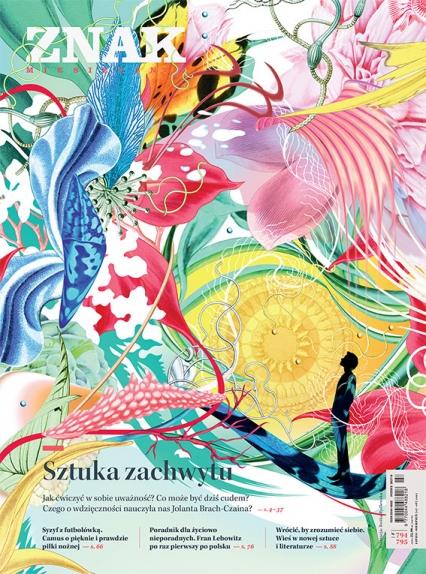 ZNAK 794 07-08/2021 Sztuka zachwytu - Autor zbiorowy | okładka
