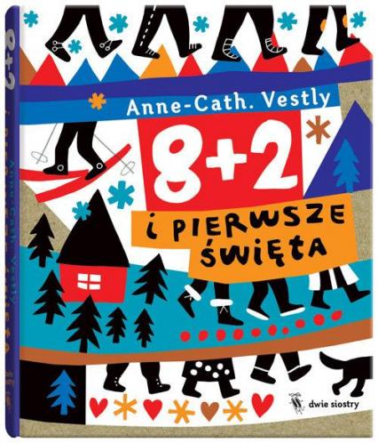 8 + 2 i pierwsze święta - Anne-Cath Vestly | okładka