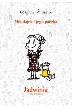 Mikołajek i jego paczka. Jadwinia i inne dziewczyny - Rene Goscinny, Jean Jacques Sempe  | okładka