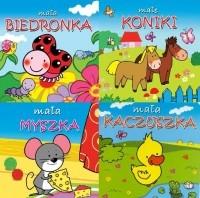 Pakiet czterech książeczek: Mała biedronka, Mała kaczuszka, Mała myszka, Małe koniki