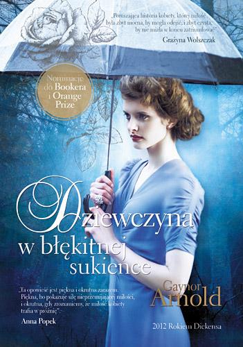 Dziewczyna w błękitnej sukience - Gaynor Arnold  | okładka