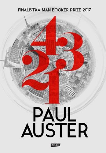 4 3 2 1 - Paul Auster | okładka