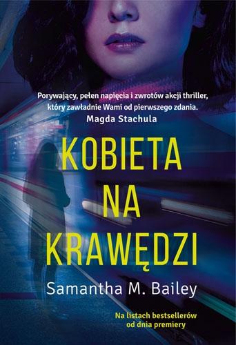 Kobieta na krawędzi - Bailey Samantha M. | okładka