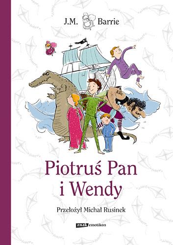 Piotruś Pan i Wendy - J.M. Barrie  | okładka