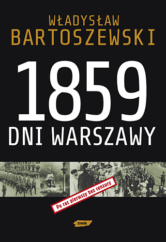 1859 dni Warszawy - Władysław Bartoszewski  | okładka